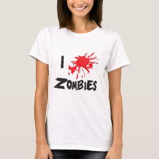I Love Zombie T-Shirt
