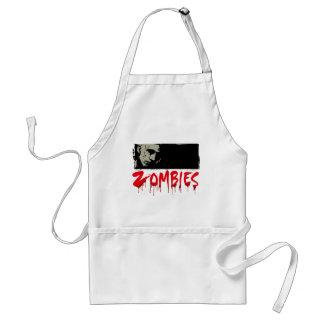 I love Zombies Adult Apron
