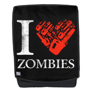 I Love Zombies Backpack