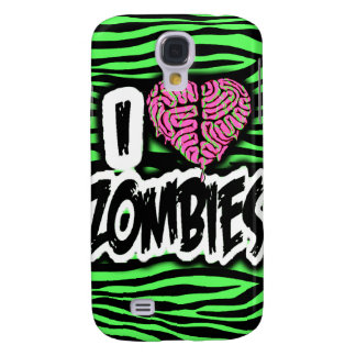 I Love Zombies Samsung Galaxy S4 Cases