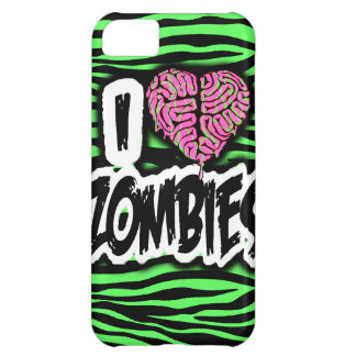 I Love Zombies Case For iPhone 5C