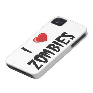 I Love Zombies Case-Mate iPhone 4 Case