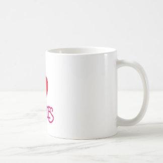 I Love Zombies! Coffee Mug