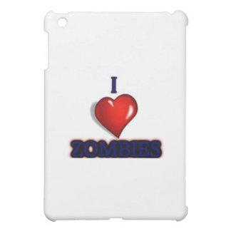 I love zombies iPad mini cover