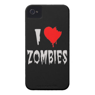 i love zombies iPhone 4 case
