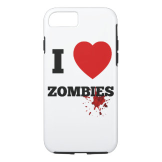 I love zombies iPhone 8/7 case