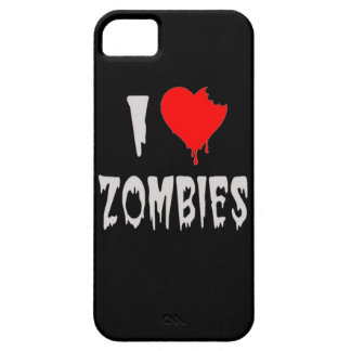 i love zombies iPhone SE/5/5s case