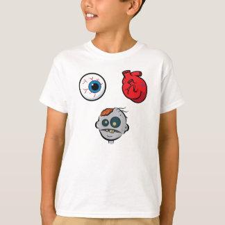 I Love Zombies Kids T-Shirt