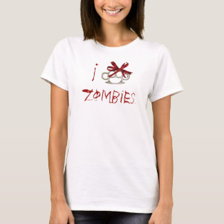 I Love Zombies-KnuckleBow T-Shirt