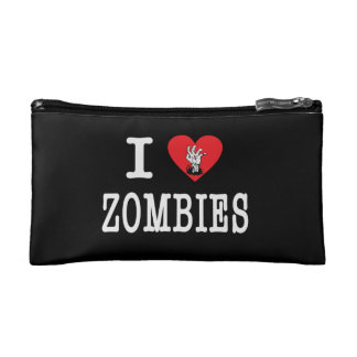 I Love Zombies Makeup Bag