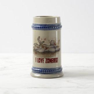I Love Zombies! Mug
