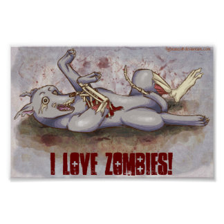 I Love Zombies! Poster