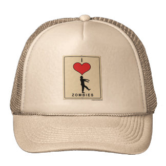 I Love Zombies Trucker Hat