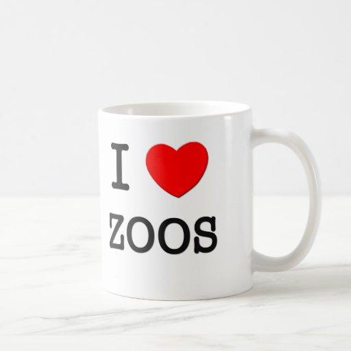 I Love Zoos Coffee Mug