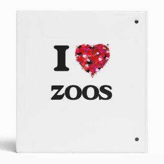 I love Zoos Vinyl Binders