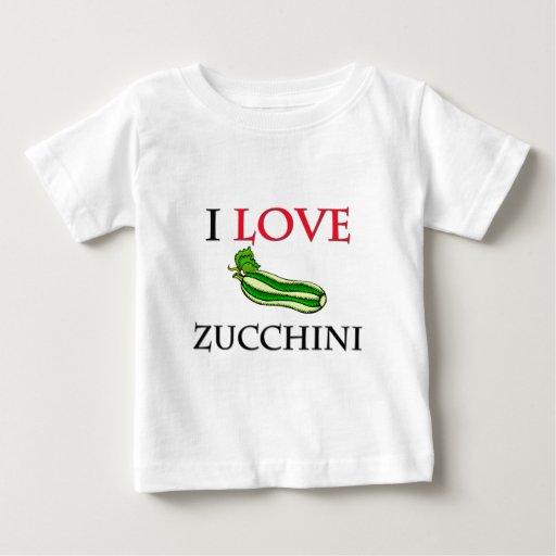 I Love Zucchini Infant T-shirt
