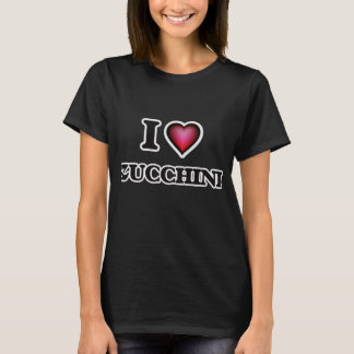 I Love Zucchini T-Shirt