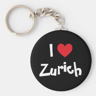 I Love Zurich Keychain