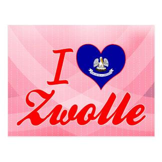 I Love Zwolle, Louisiana Postcards