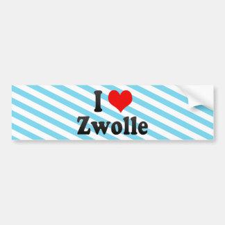 I Love Zwolle, Netherlands Bumper Stickers