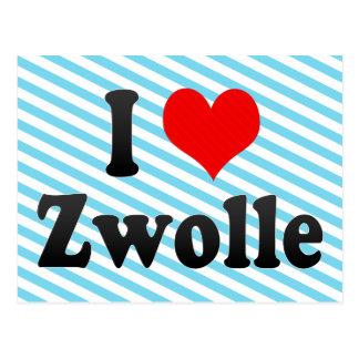 I Love Zwolle, Netherlands Postcard