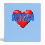 I LoveBuffalo Binders
