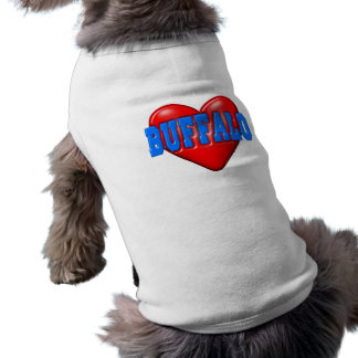 I LoveBuffalo Doggie Tee Shirt