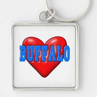 I LoveBuffalo Keychains