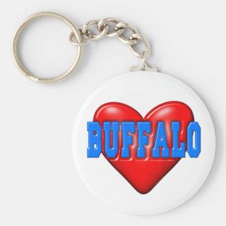 I LoveBuffalo Key Chain