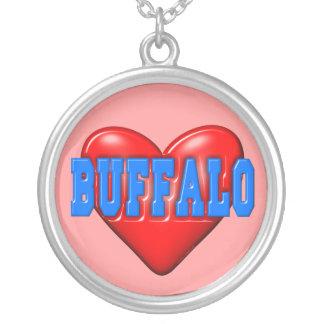 I LoveBuffalo Pendant