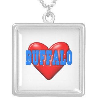 I LoveBuffalo Personalized Necklace