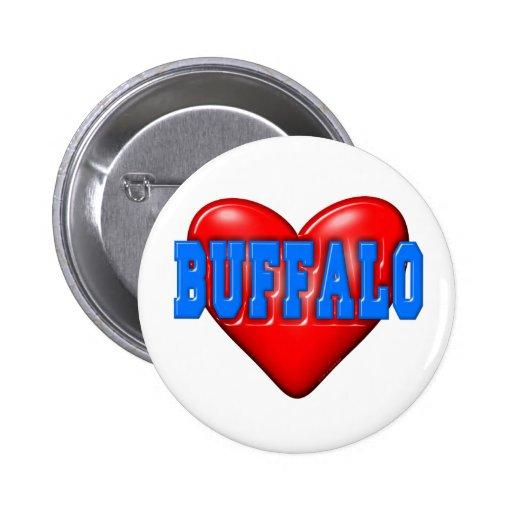 I LoveBuffalo Pin
