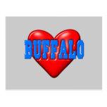 I LoveBuffalo Postal