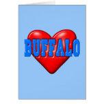 I LoveBuffalo Tarjeta Pequeña
