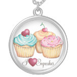 I LoveCupcakes necklace