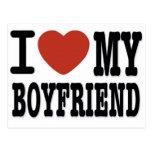 I LOVEMY BOYFRIEND POSTCARD