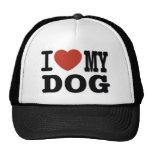 I LOVEMY DOG HAT