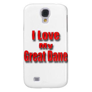 I LoveMy great dane Funda Samsung S4