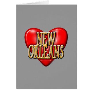 I LoveNew Orleans Card