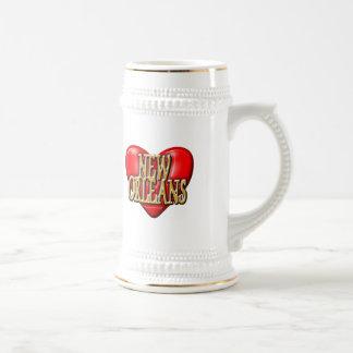 I LoveNew Orleans Jarra De Cerveza