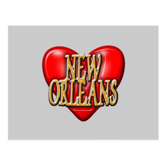 I LoveNew Orleans Postcard