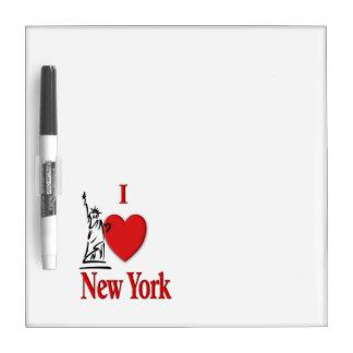 I Lover NY Dry-Erase Board
