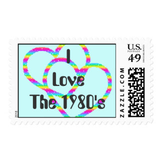 I LoveThe 1980's Postage