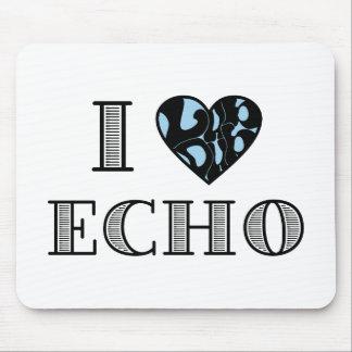 I LubDub Echo Blue Mouse Pad