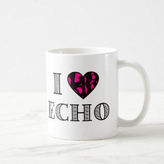 I LubDub Echo Hot Pink Coffee Mug