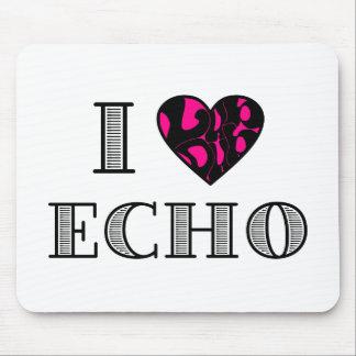 I LubDub Echo Hot Pink Mouse Pad