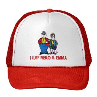 I Luff Mylo and Emma Trucker Hat