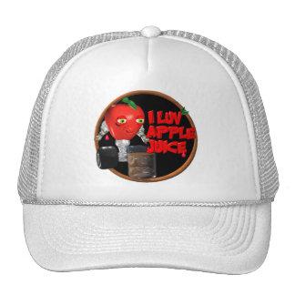 I Luv Apple Juice on 100+items by valxart.com Hats