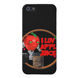 I Luv Apple Juice on 100+items by valxart.com Case For iPhone 5