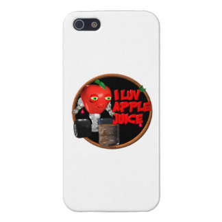 I Luv Apple Juice on 100+items by valxart.com iPhone 5 Cover